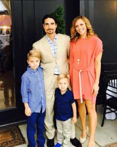 Truth be told. No fairy tales here. The Richardson family. (Courtesy: Kevin Richardson/Instagram)